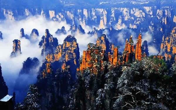 峰 御笔峰旅游景点介绍 天子山风景区 -张家界自助游